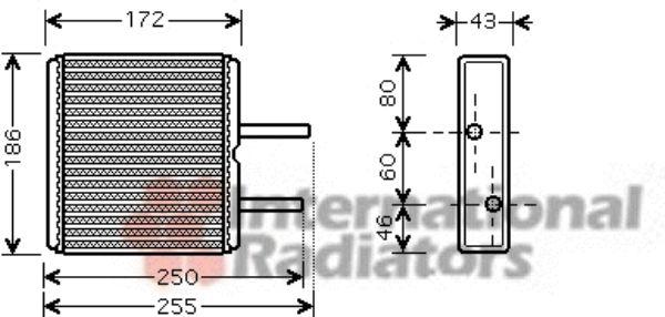 Système de chauffage - VAN WEZEL - 52006080