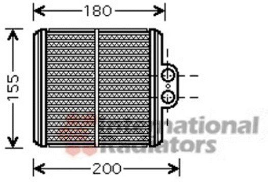 Système de chauffage - VAN WEZEL - 52006093