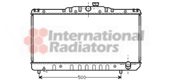 Radiateur, refroidissement du moteur - VWA - 88VWA53002029