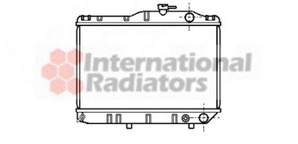 Radiateur, refroidissement du moteur - VAN WEZEL - 53002032