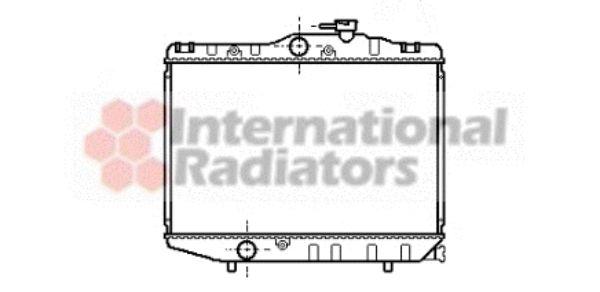 Radiateur, refroidissement du moteur - VAN WEZEL - 53002038