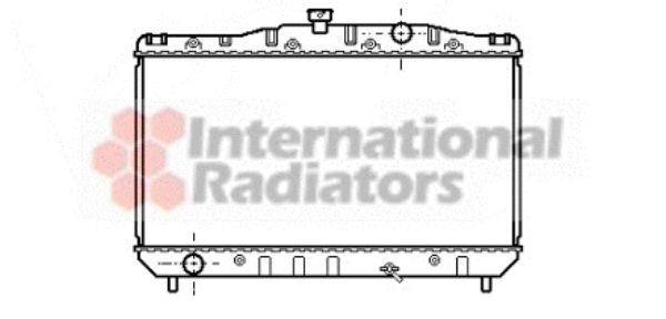 Radiateur, refroidissement du moteur - VAN WEZEL - 53002044