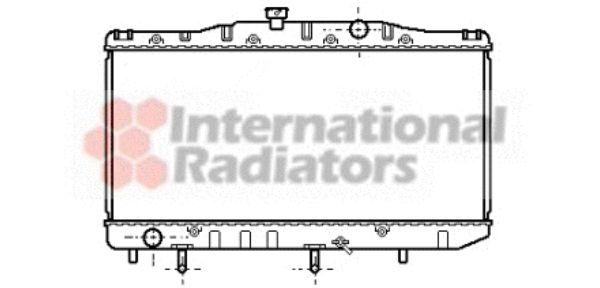 Radiateur, refroidissement du moteur - VAN WEZEL - 53002048