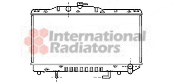 Radiateur, refroidissement du moteur - VAN WEZEL - 53002100
