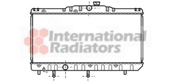Radiateur, refroidissement du moteur - VWA - 88VWA53002123