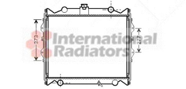 Radiateur, refroidissement du moteur - VAN WEZEL - 53002310
