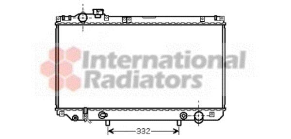 Radiateur, refroidissement du moteur - VWA - 88VWA53002312