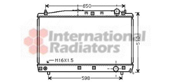 Radiateur, refroidissement du moteur - VWA - 88VWA53002366