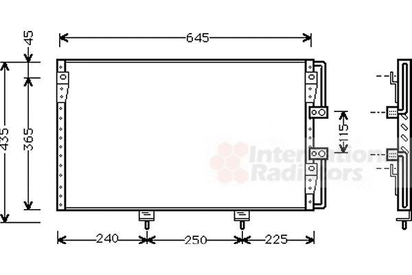 Condenseur, climatisation - VWA - 88VWA53005226