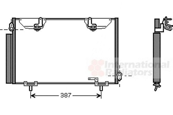 Condenseur, climatisation - VWA - 88VWA53005328