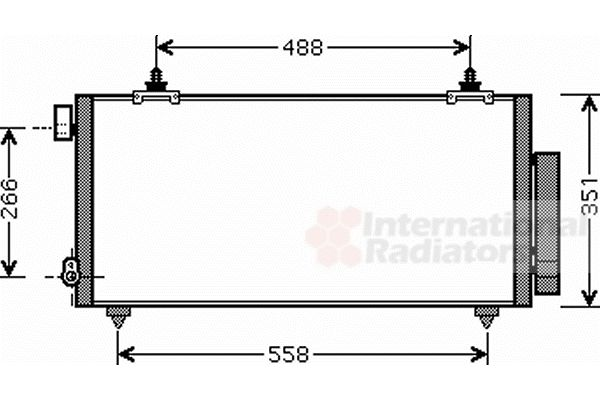 Condenseur, climatisation - VWA - 88VWA53005381