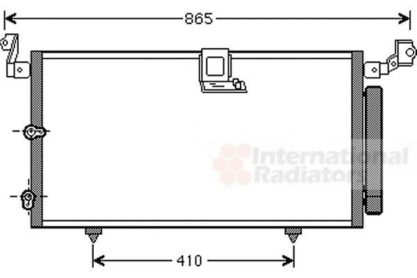 Condenseur, climatisation - VWA - 88VWA53005384