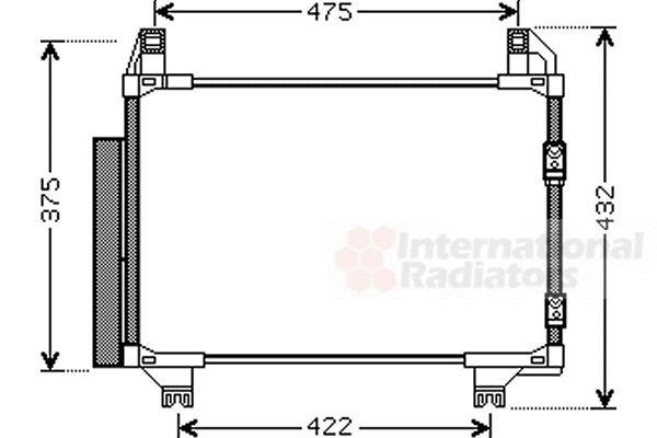 Condenseur, climatisation - VWA - 88VWA53005413