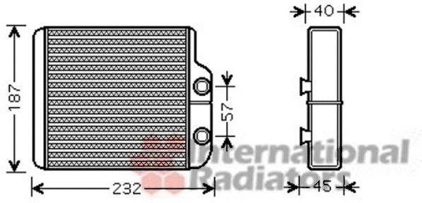 Système de chauffage - VAN WEZEL - 53006368