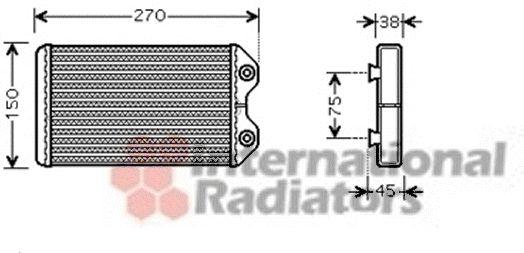 Système de chauffage - VAN WEZEL - 53006369