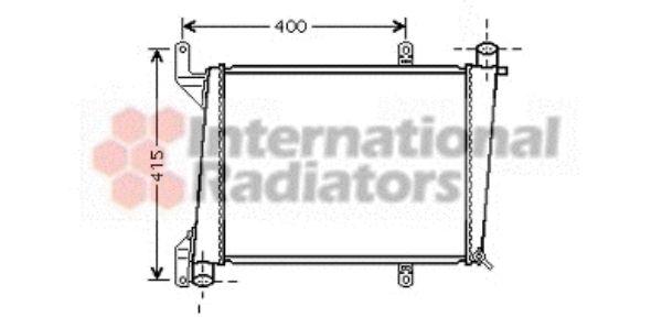Radiateur, refroidissement du moteur - VWA - 88VWA59002127