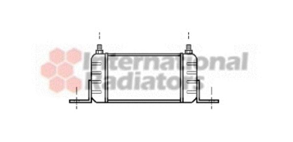 Radiateur d'huile de boite de vitesse automatique - VAN WEZEL - 59003032