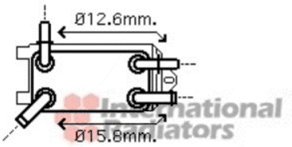 Radiateur d'huile - VAN WEZEL - 59003135