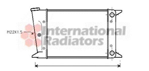 Radiateur, refroidissement du moteur - VWA - 88VWA58002044