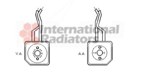 Radiateur d'huile - VAN WEZEL - 58003100