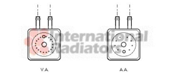 Radiateur d'huile - VWA - 88VWA58003148