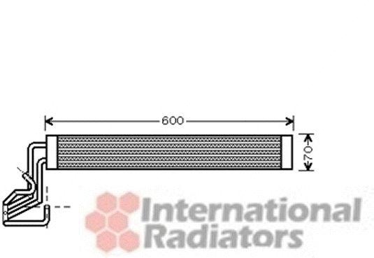Radiateur d'huile - VWA - 88VWA58003264