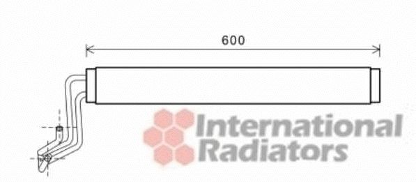 Radiateur d'huile - VWA - 88VWA58003308