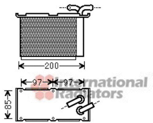 Intercooler, échangeur - VWA - 88VWA58004305