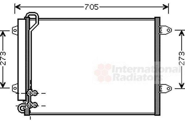 Condenseur, climatisation - VWA - 88VWA58005225