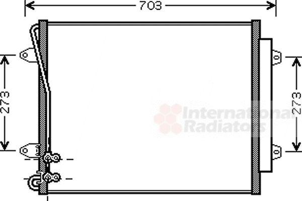 Condenseur, climatisation - VWA - 88VWA58005226