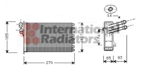 Système de chauffage - VWA - 88VWA58006173
