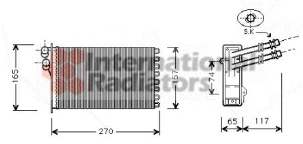 Système de chauffage - VAN WEZEL - 58006175