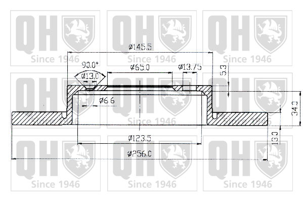 Débitmètre de masse d'air - QUINTON HAZELL - QM651
