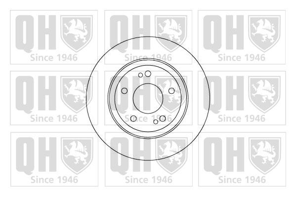 Moyeu de roue - QUINTON HAZELL - QWH104
