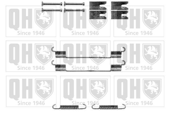 Kit d'accessoires, mâchoire de frein - QUINTON HAZELL - BFK453
