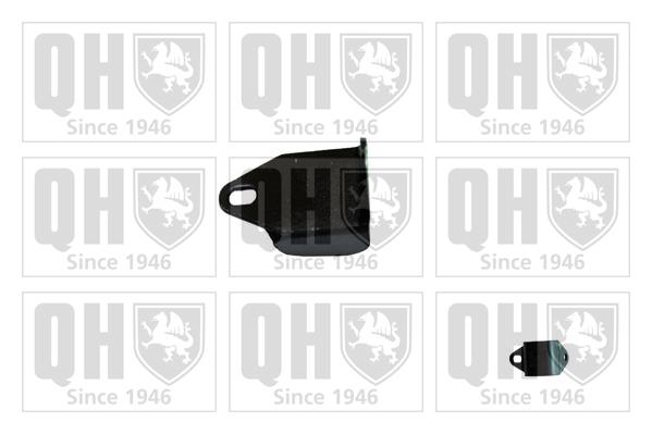 Kit de protection contre la poussière, amortisseur - QUINTON HAZELL - EM4041