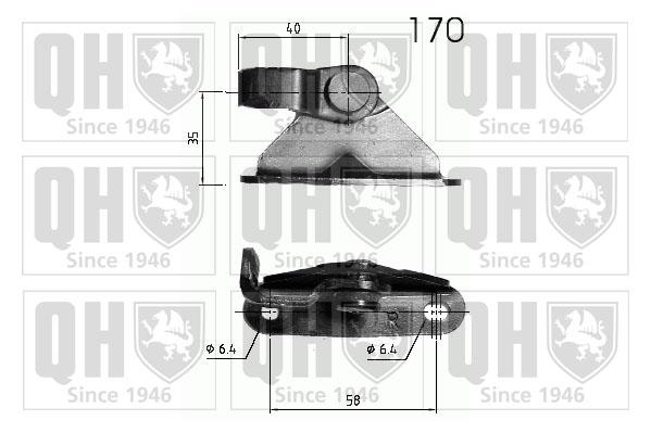 v rin de hayon de coffre quinton hazell qts840285 amapiece. Black Bedroom Furniture Sets. Home Design Ideas
