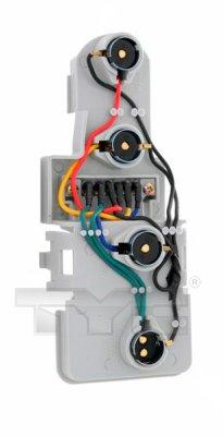 Support de lampe, feu arrière - TYC - 11-0463-1
