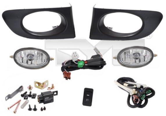 Bloque-optique, projecteur antibrouillard - TYC - 19-0195000