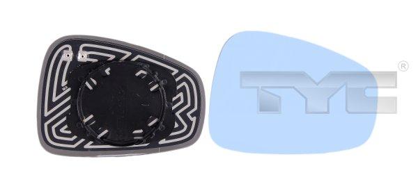 Vitre-miroir, unité de vitreaux - TCE - 99-301-0029-1