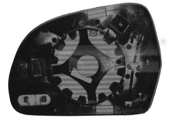 Vitre-miroir, unité de vitreaux - TCE - 99-302-0072-1