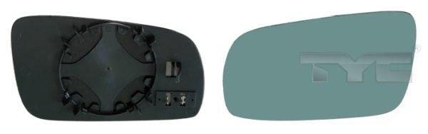 Verre de rétroviseur, rétroviseur extérieur - TYC - 302-0086-1
