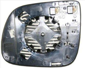 Verre de rétroviseur, rétroviseur extérieur - TCE - 99-302-0090-1