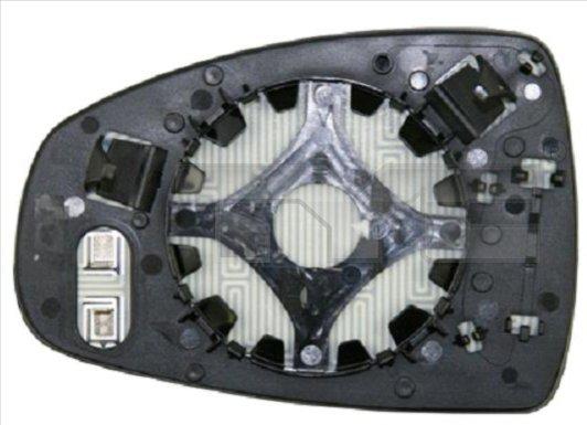 Verre de rétroviseur, rétroviseur extérieur - TYC - 302-0097-1