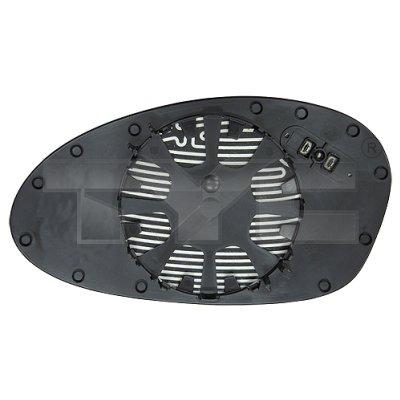 Verre de rétroviseur, rétroviseur extérieur - TYC - 303-0098-1