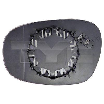 Verre de rétroviseur, rétroviseur extérieur - TCE - 99-303-0110-1