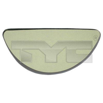 Verre de rétroviseur, rétroviseur extérieur - TYC - 310-0180-1