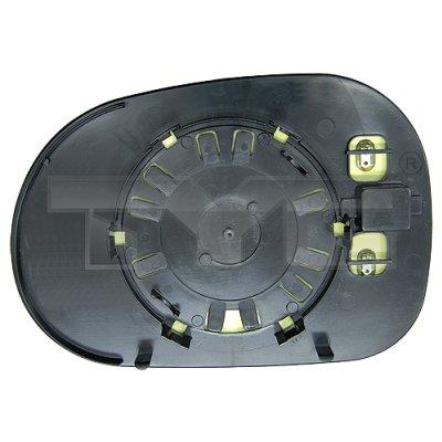 Verre de rétroviseur, rétroviseur extérieur - TCE - 99-321-0115-1