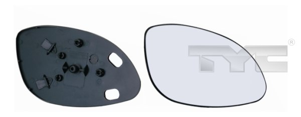 Vitre-miroir, unité de vitreaux - TCE - 99-325-0042-1