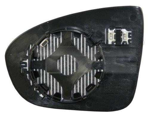 Verre de rétroviseur, rétroviseur extérieur - TYC - 325-0122-1